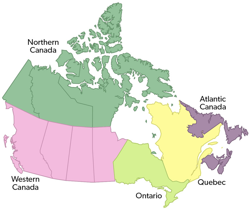 Online gambling in Canada comes under local provincial jurisdictions.