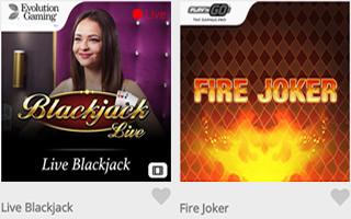 Casimba casino games online