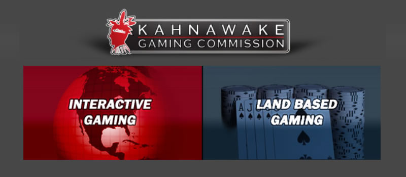 The Kahnawake Gaming Commission.