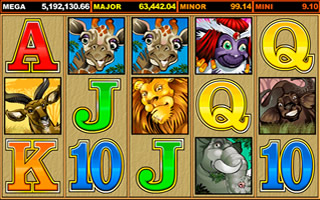 Mega Moolah Offer - 100 Spins with Captain Cooks Casino.