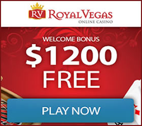 Royal Vegas, a real money online casino.