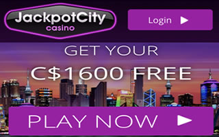 The jackpot city casino offer in Canada