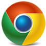 The chrome browser