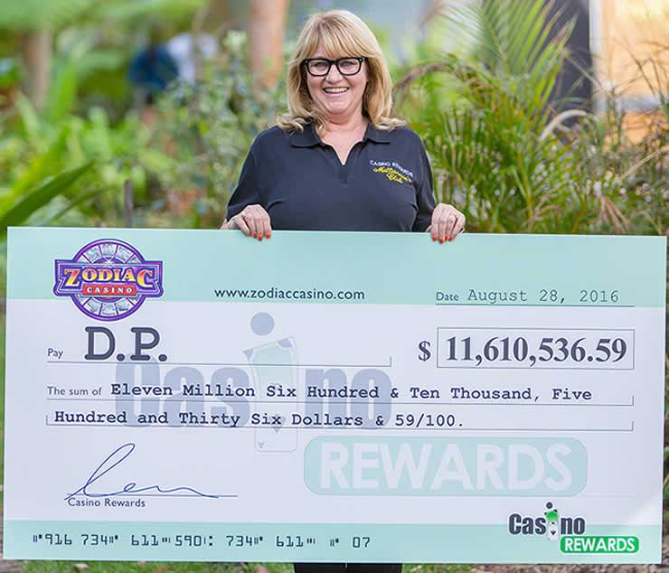Zodiac Casino Winner in 2016 - A crazy record!