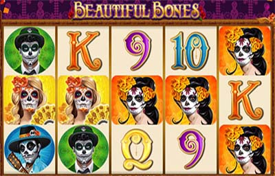 Beautiful Bones is an original and profitable slot machine. This popular game has many options and combinations and is easy to use.