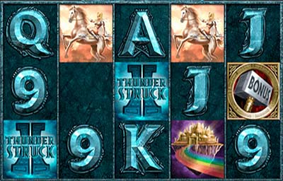 Thunderstruck 2 is a lucrative online slot - the payout of this casino game is higher than 97%.
