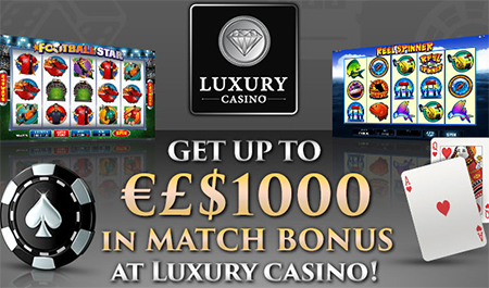 Luxury Casino takes online gaming to a whole new level, by offering players the best casino games on the market