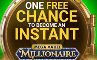 Free spin on Mega Vault Millionaire jackpot slot game