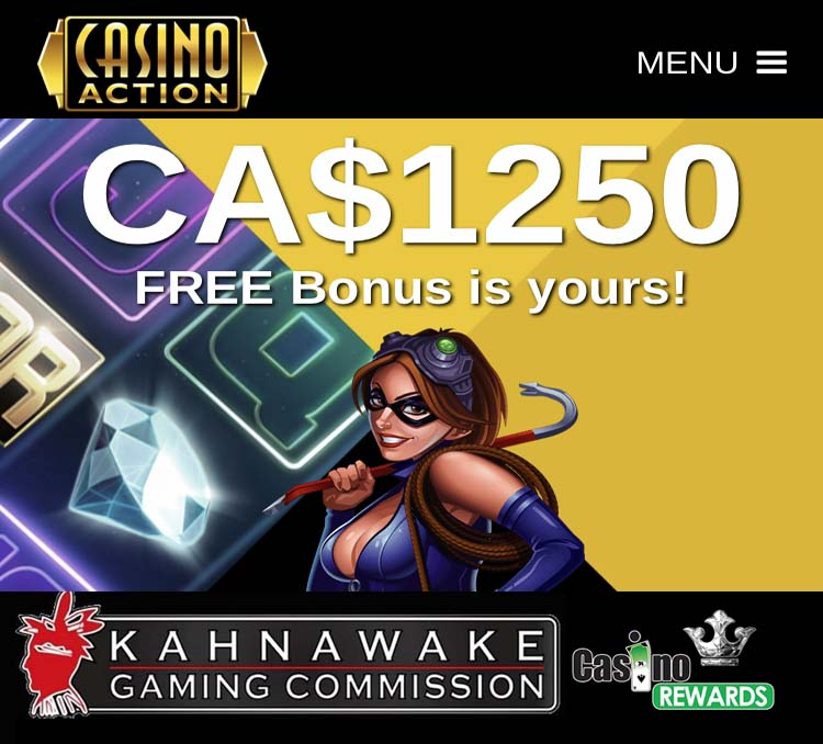 Kahnawake Action Casino - online slots in Canada