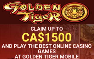 Golden Tiger Casino offer