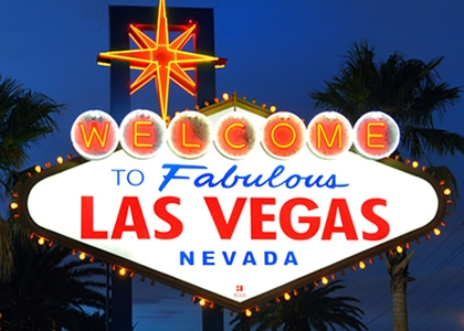 The Las Vegas Entrance Sign - a symbol of Nevada casinos