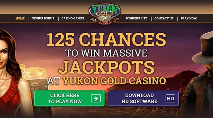 Online games like Las Vegas with Yukon Gold Casino