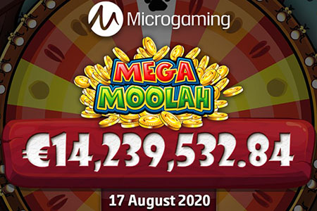 Mega Moolah Win August 2020 - Over 14 Million Won at Lucky Casino