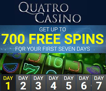 Quatro Casino - 700 free spins in 2021