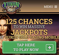 Yukon Gold casino offer