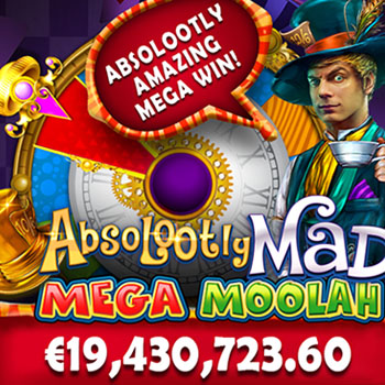 Jackpot record Absolootly Mad Won in 2021